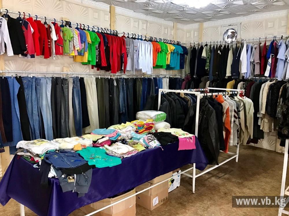 В Оше открылся бесплатный магазин для малоимущих людей 66d7425e5ea