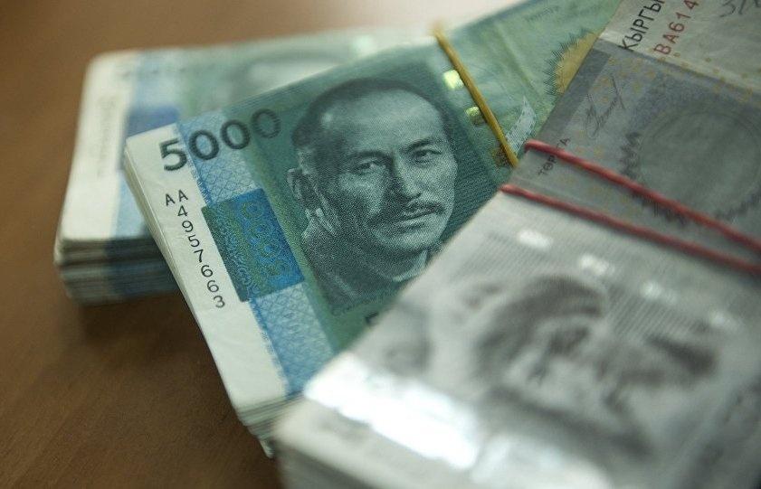 Киргизские деньги фото