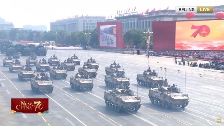 Китай поразил военной мощью. В Пекине прошел парад к 70-летию КНР (видео)