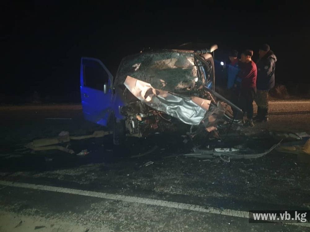 Семь человек погибли в результате ДТП на трассе Бишкек-Ош