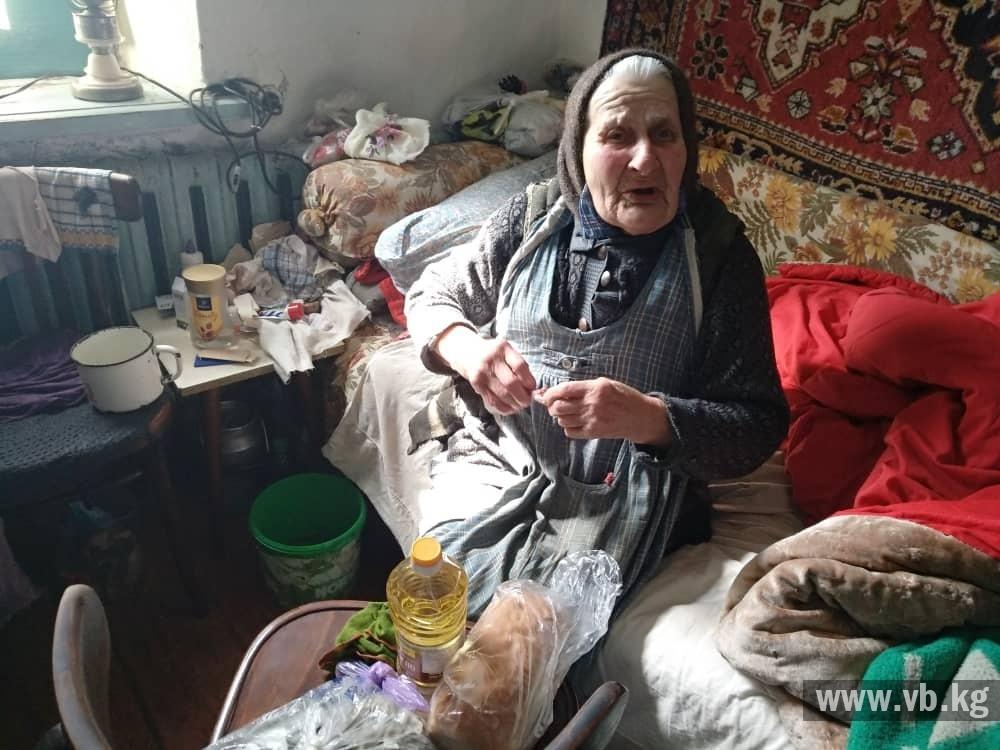 Точки сбора продуктов для пенсионеров и малообеспеченных семей