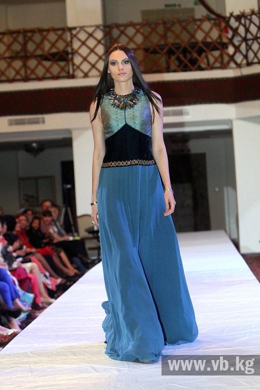 Современные кыргызские национальные платья