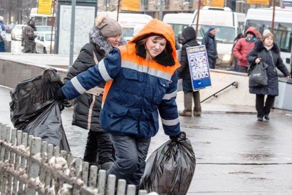 Москва без азиатских дворников утопает в грязи