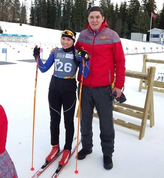 Зимняя юношеская Олимпиада: Кундуз Абдыкадырова стала 49-й в спринте