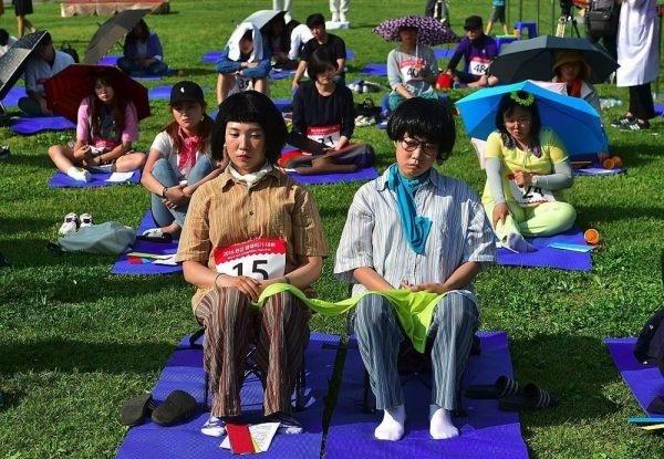 В Корее проходят чемпионаты по ничегонеделанию