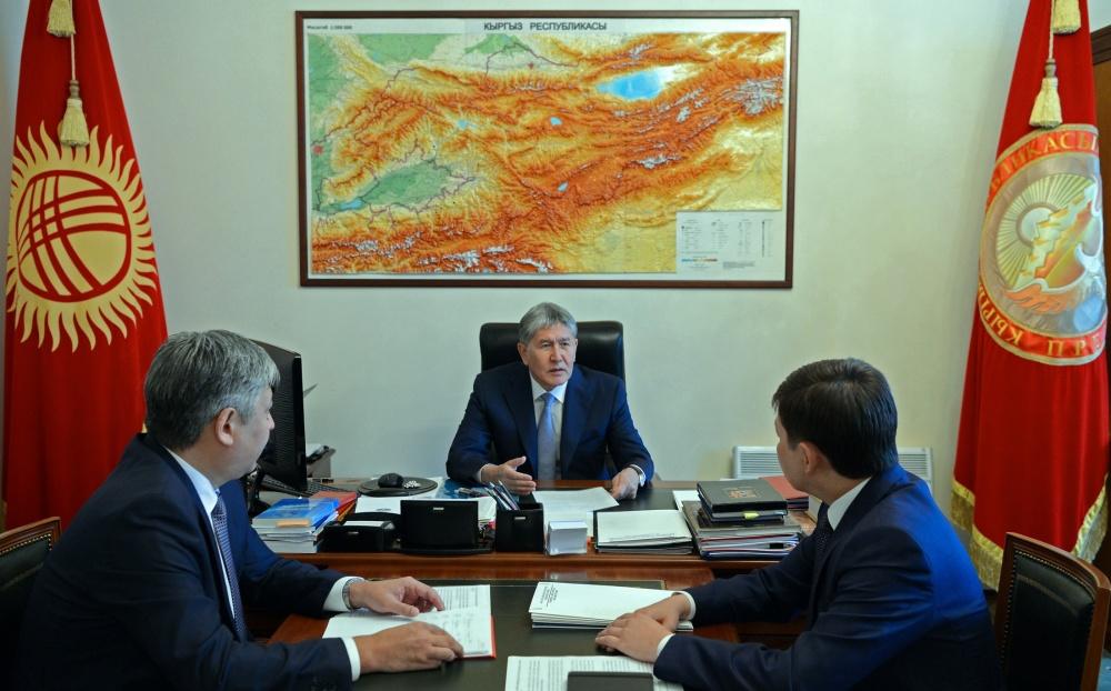 Атамбаев поручил главе МИД  провести ревизию международных соглашений