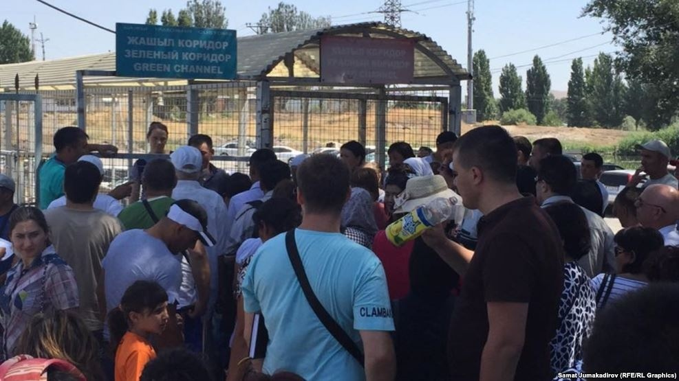 Кыргызско-казахская граница: скандал выходит на международный уровень
