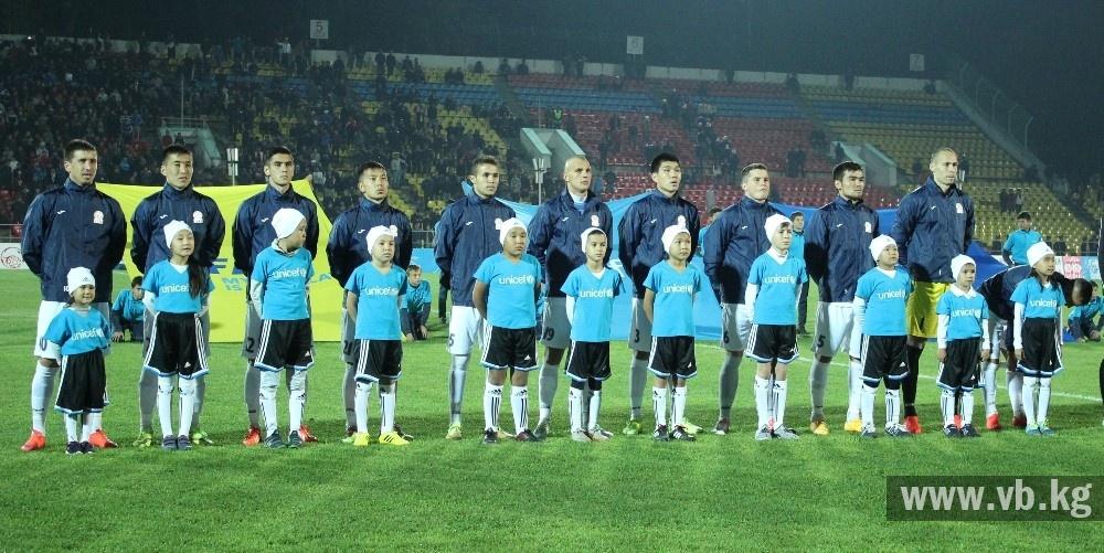 Сборная Кыргызстана снова обновила свой исторический рекорд в рейтинге ФИФА