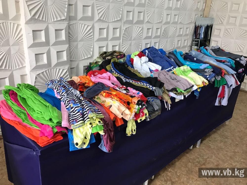 В Оше открылся бесплатный магазин для малоимущих людей - Новости ... a00782cf560