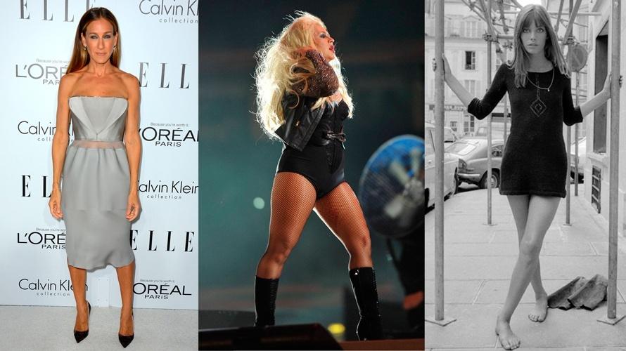 Как носит короткие юбки если нога кривая