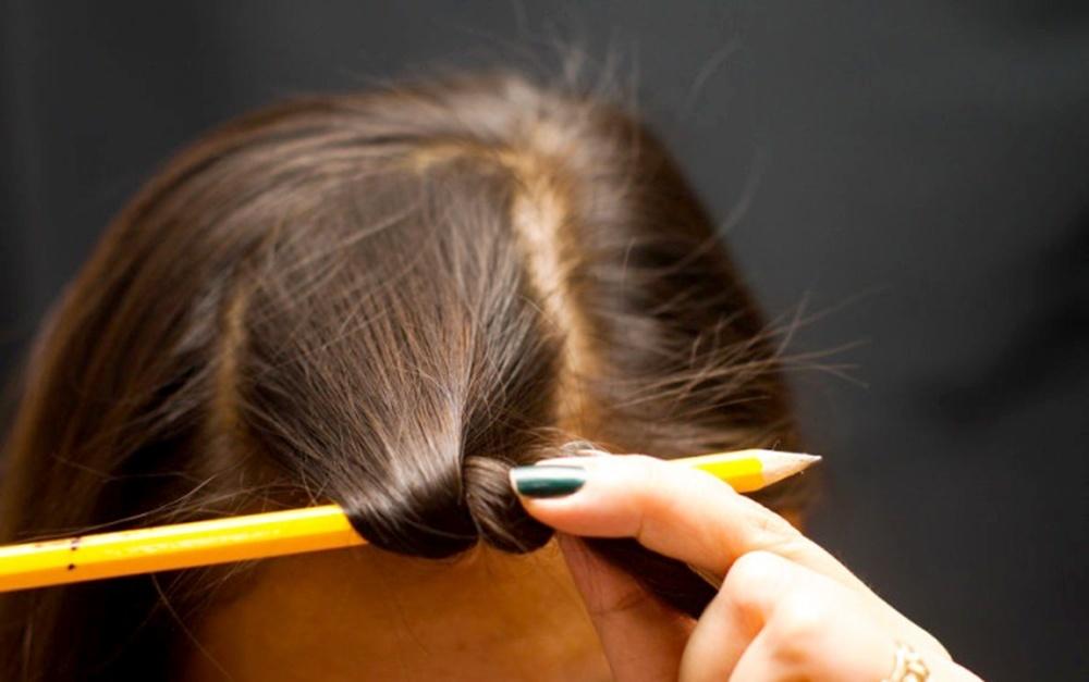 Как закрутить волосы в трубочку